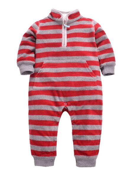 Red gray stripe