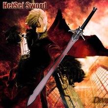 Косплэй Devil May Cry 4 Данте меч японского аниме высокой мультфильм Сталь Катана настоящее оружие 130 см Extended Edition