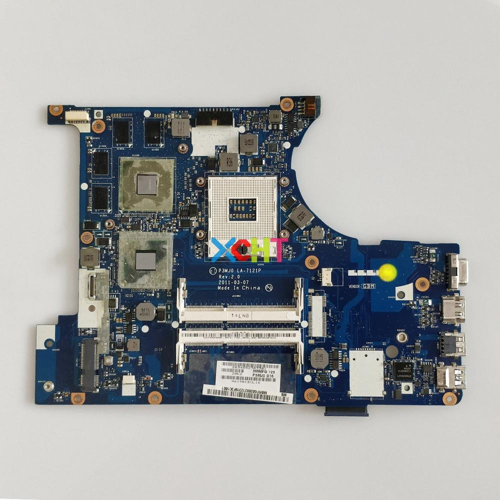 MBRFQ02002 MB.RFQ02.002 P3MJ0 LA-7121P HM65 DDR3 GT540M GPU for Acer Aspire 3830 3830TG PC Laptop Motherboard Mainboard Tested