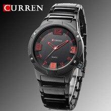 2016 new curren montres hommes marque de luxe militaire montres hommes montres-bracelets en acier pleins mode casual imperméable de quartz de sport de l'armée