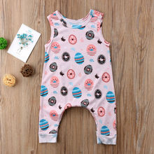 Buy easter clothes boy and get free shipping on aliexpress 2018 new kids easter gift infant baby boy girls sleeveless egg romper outfit cotton newborn pink negle Image collections
