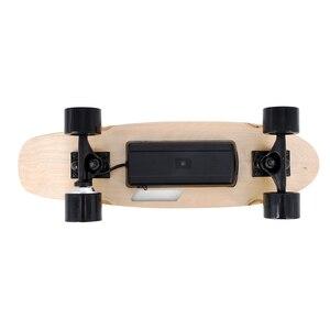 Image 4 - 도착 전기 스케이트 보드 성인 및 청소년을위한 무선 핸드 헬드 원격 제어와 휴대용 전기 스케이트 보드