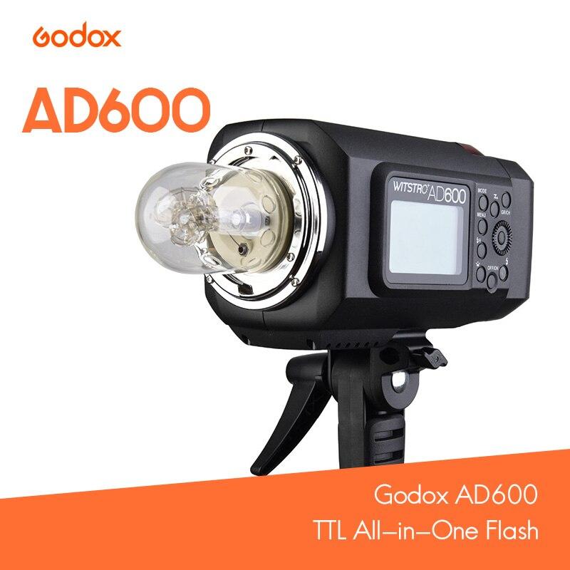 Godox AD600 TTL All-in-One Flash Lithium battery for Bowen/Godox Mount  for Nikon / Cannon / Sony