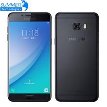 Original Samsung Galaxy C5 Pro C5010 Mobile Phone 4GB RAM 64GB ROM Fingerprint Dual SIM 5.2″ GPS NFC 16.0MP 4G LTE Smartphone