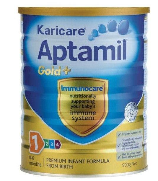 R$ 1065 27 |Free Shipping!Karicare Aptamil Milk Powder Gold+ Infant Formula  Stage 1(0~6 Mon),Buy and Send from Melbourne,6 tins/ Lot  em Mamadeiras de