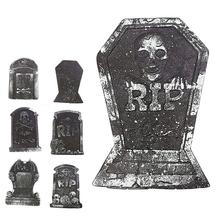Artificial Foam Tombstone For Haunted House Decoration