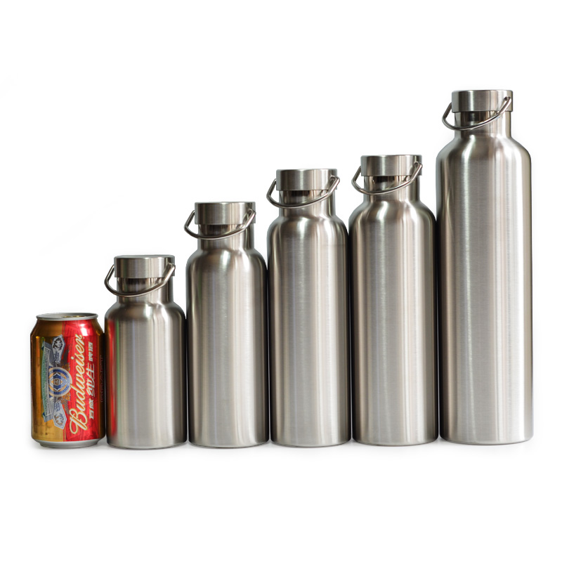 Volledige roestvrijstalen thermoskan Double Wall Vacuum Insulated Water Bottle Flask Mug Cup Tumbler BPA Free