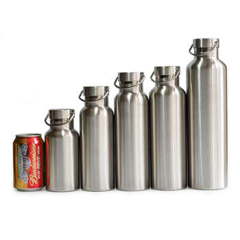 Full Stainless Steel Thermos Double Wall Vacuum Insulated Water Bottle Flask Mug Cup Tumbler BPA Free - DISCOUNT ITEM  32% OFF All Category