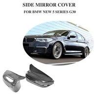 Carbon Fiber Racing Mirror Covers caps Shield for BMW 5 Series G30 Standard Sedan 4 Door 2018 530e