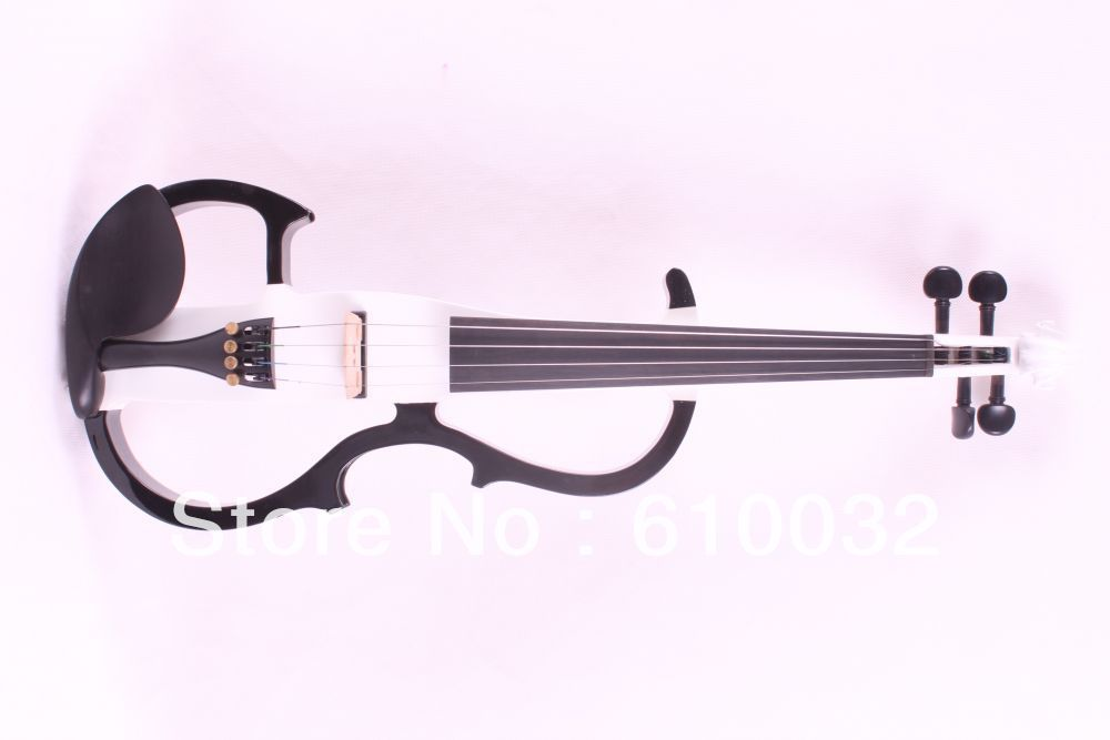 4 strings 4/4 Electric Violin Silent Pickup Fine tone parts include New Golden Color #8-21black white    color belcat bass pickup 5 string humbucker double coil pickup guitar parts accessories black