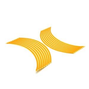 Image 2 - ملصقات ملونة للعجلة مقاس 17/18 بوصة ملصقات عاكسة للعجلة شريط حاشية لـ HODNA CB500 CB600 CB750 CB900 CB1000 CB1300