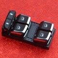 Оригинальный OEM Chrome Драйверов Окно Мастер Переключатели Стеклоподъемников Управления Переключатель для A6 S6 A7 Q3 С7 RS6 RS7 4GD 959 851 B