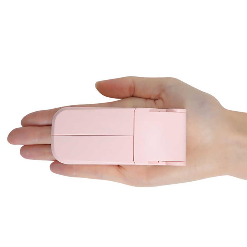 المحمولة USB البسيطة شحن الجيب للطي مروحة الكهربائية المحمولة المحمولة مروحة صغيرة الإبداعية الأجهزة الصغيرة سطح المكتب مروحة