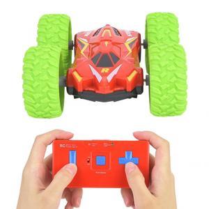 Image 5 - Esnek Mini RC dublör araba oyuncak bebek çocuk küçük uzaktan kumanda elektrikli dublör araba oyuncak çocuk hediye için