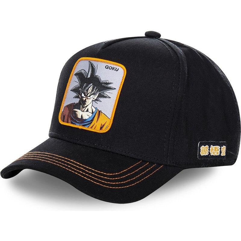 New Brand Goku Dragon Ball Snapback   Cap   Cotton   Baseball     Cap   For Men Women Hip Hop Dad Hat Bone Dropshipping