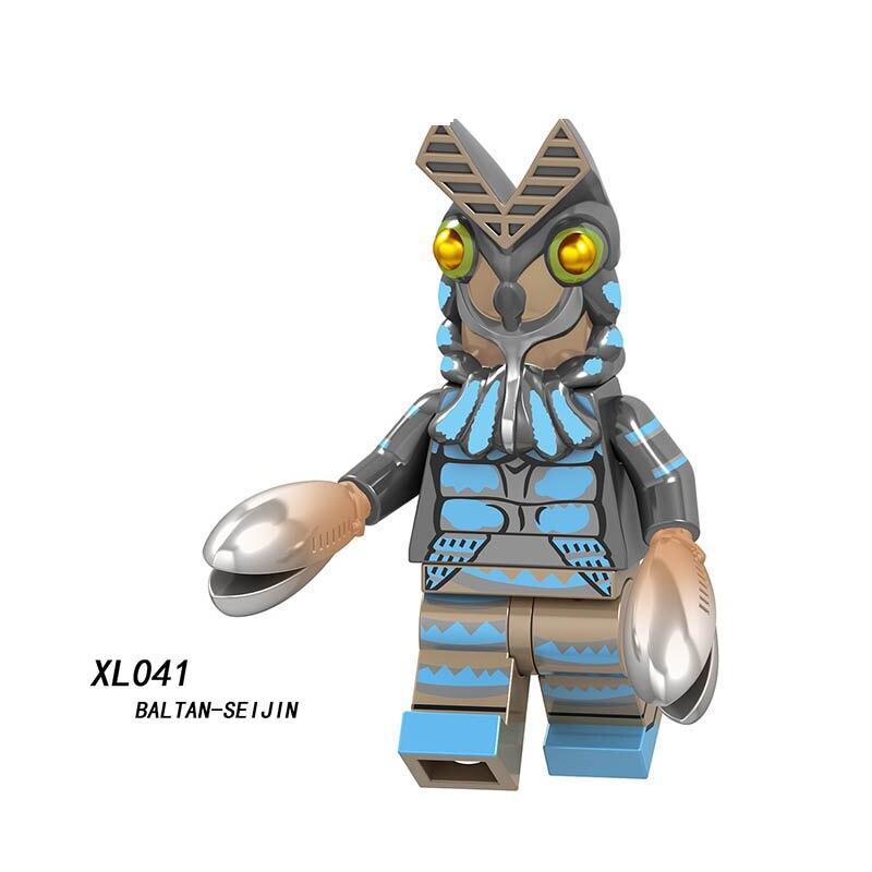 Single Sale LegoINGlys Enlighten Avengers Altman BalTan-SeiJIN MASKER RIDER Marvel Infinity Bricks Building Blocks Toys Gift