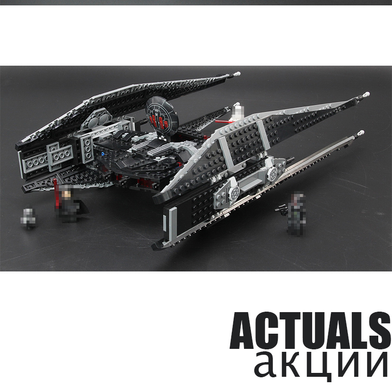 LEPIN Kylo Ren's TIE Fighter 05127 705PCS Model Building Blocks Bricks toys for children gifts compatible with 75179 kazi military 16 in1 set 545pcs building blocks tanks fighter warship army toys for boys children bricks compatible with lepin