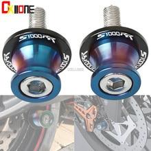 Motorcycle stands screws Swingarm Spools slider For BMW S1000RR Honda CBR1000RR CBR600RR CBR 1000RR 60RR 8MM swing arm