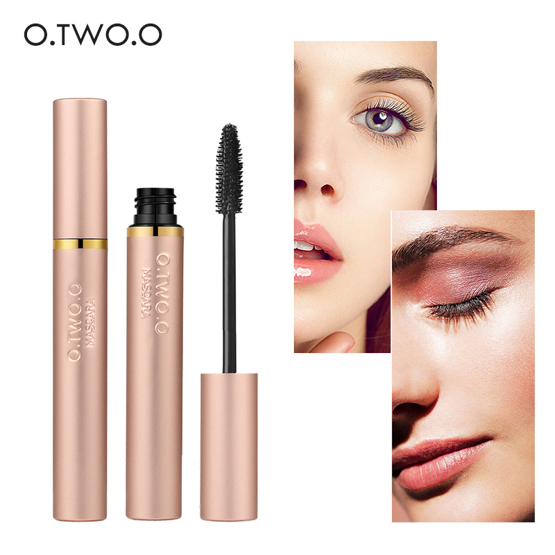 O.TWO.O 4D Fiber Lash Mascara Waterproof Volume Long Natural Lash Eyelash Extension Thick Lengthening Mascara Eye Lashes Makeup