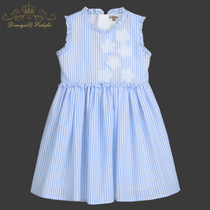 Baby Girls Dress Summer Unicorn Costume for Kids Clothing 2018 Brand Children Party Dresses Girls Clothes Princess Striped Dress baby girls striped dress for girls formal wedding party dresses kids princess children girls clothing