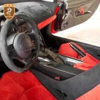 Углеродное волокно интерьер сухой углерода для LAMBO Gallardo Lp550 LP560 LP570 интерьер автомобильные аксессуары внутренняя модификация