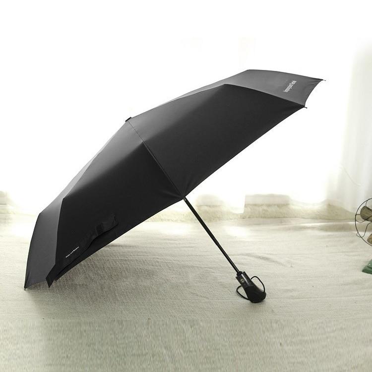 Auto Open//Close Compact Umbrella,Artistic Tractor Automatic Folding Travel Umbrella Ergonomic Non-Slip Handle