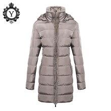 COUTUDI Women Clothing Solid Jacket Winter Female 2016 China Stylish Long Khaki Parka Coats Warm Waterproof Women's Winter Coat