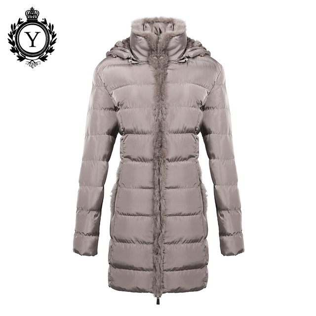 COUTUDI Women Clothing Solid Jacket Winter Female 2016 China Stylish Long Khaki Parka Coats Warm Waterproof Women's Winter Coat