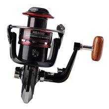 Spinning Fishing Reel 12BB  Bearing Balls 1000-6000 Series Metal Coil Boat Rock Wheel