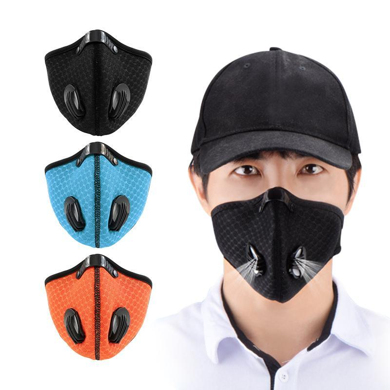 Anti Pollution Mask Dust Respirator Washable Reusable Mouth Face Mask Prevent PM2.5 And N95 Air Pollution Unisex Mouth Muffle