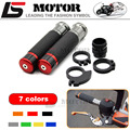 Motorcycle Handle bar / Handlebar Grips Carbon Fiber Material 7/8'' CNC 22MM For DUCATI 1098 1198 1199 899 Panigale RED