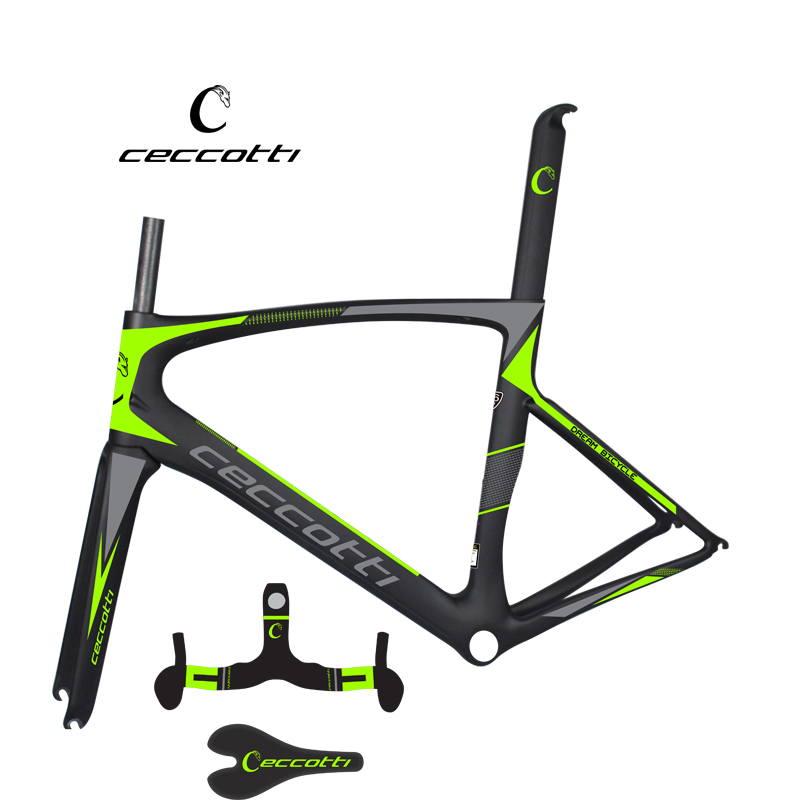 Ceccotti carbon bike frame bicycle handlebar and saddle NEW road frame XXS/XS/S/M/L carbon frame made in China 2015 petcircle 2 xxs xs s m l 29683858