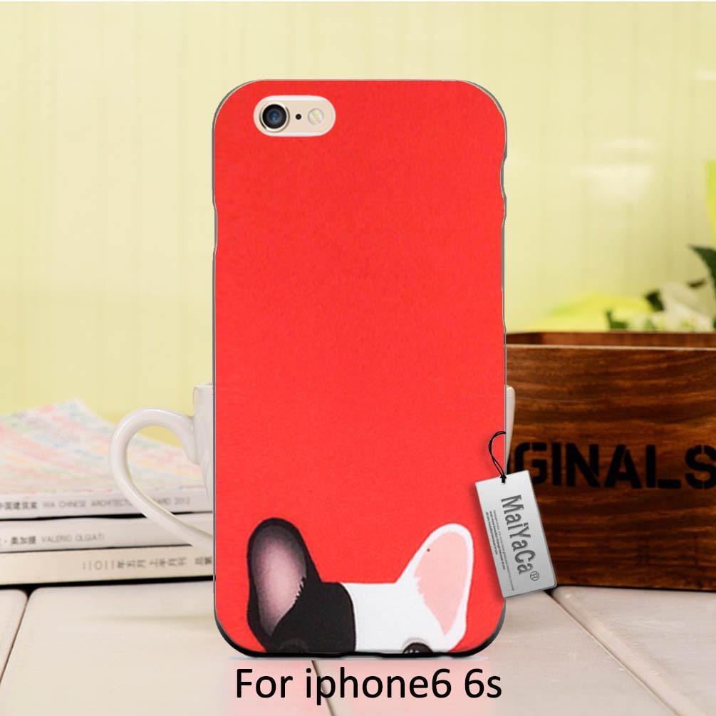 Maiyaca силиконовый чехол Cute карман Товары для собак мультфильм красного цвета Собака на продажу классный телефон Интимные аксессуары чехол д... ...