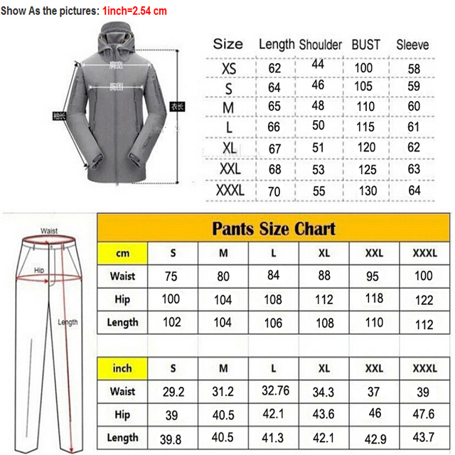 TAD Gear Tactical Softshell Camouflage Jacket Set Men Army Windbreaker Waterproof Hunting Clothes Camo Military Jacket andPants 4