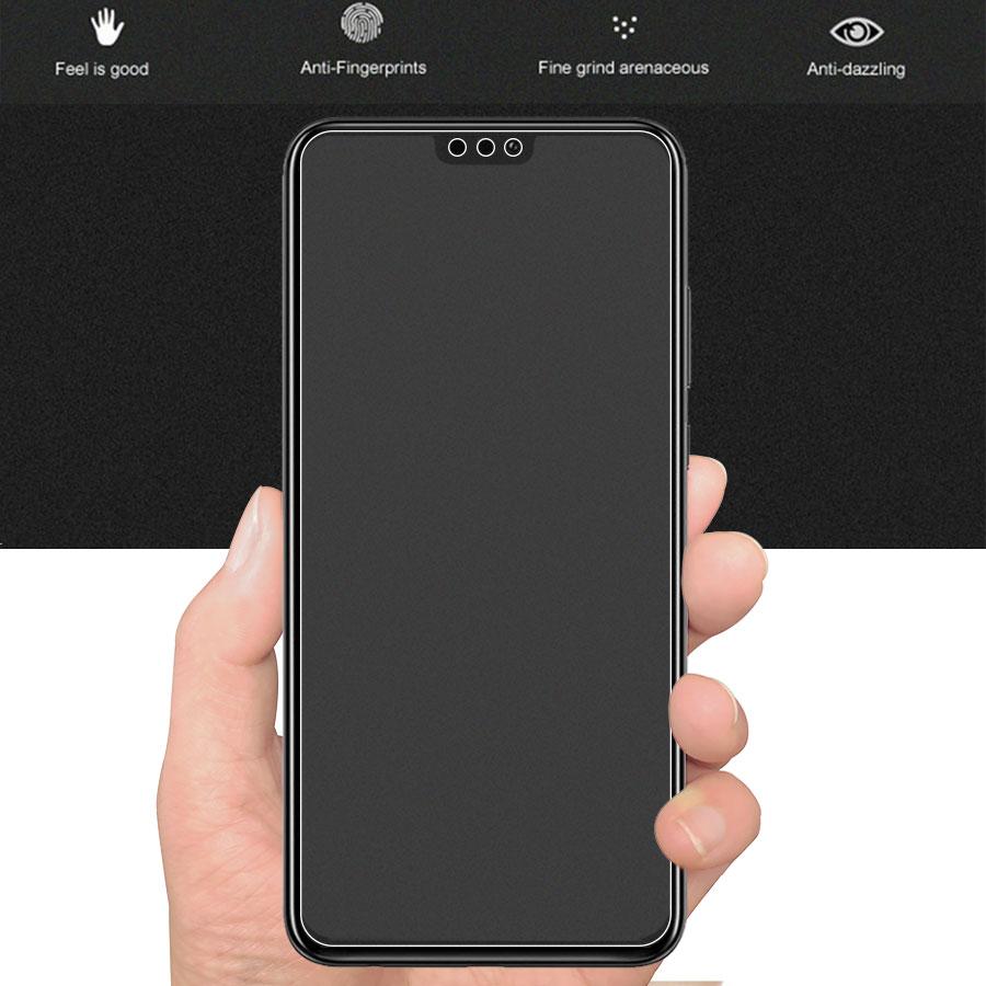 Matowy matowe szkło hartowane dla Huawei Honor 8X10 9 8 grać 8X 7X widok Mate 20 P inteligentny plus 2019 folia ochronna na ekran szkło 2
