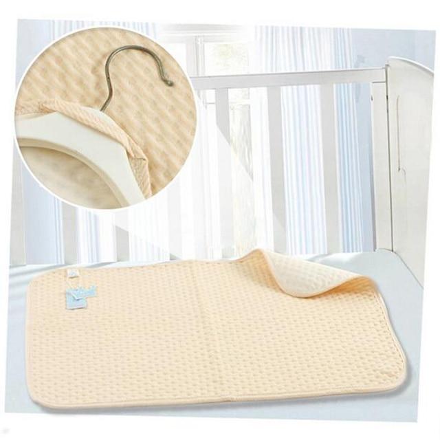 fed853ec6 Bebé cambiante almohadilla algodón Esterillas TRESS para recién nacido cuna  impermeable Esterillas cuna niños lavable incontinencia