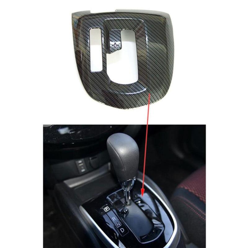 BBQ@FUKA Auto New Interior Console Gear Shift Decoration Panel Trim Car Interior Decoration Sticker Fit for Nissan Qashqai 2016