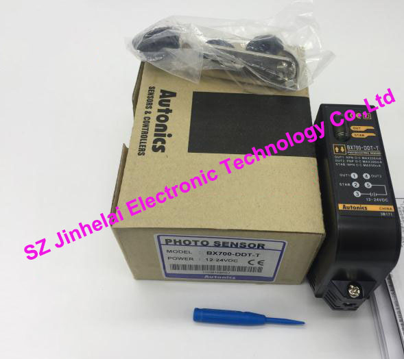 New and original BX700-DDT-T, BX700-DDT Autonics PHOTO SENSOR Photoelectric switch 12-24VDC