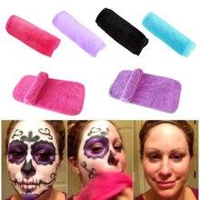 1 шт. многоразовые микрофибровые очищающие полотенца для лица Ткань для снятия макияжа очищающие косметические средства для мытья