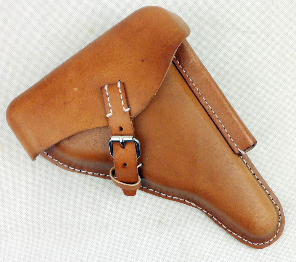 WWII Germany P08 Holster German Leather Holster For Belt