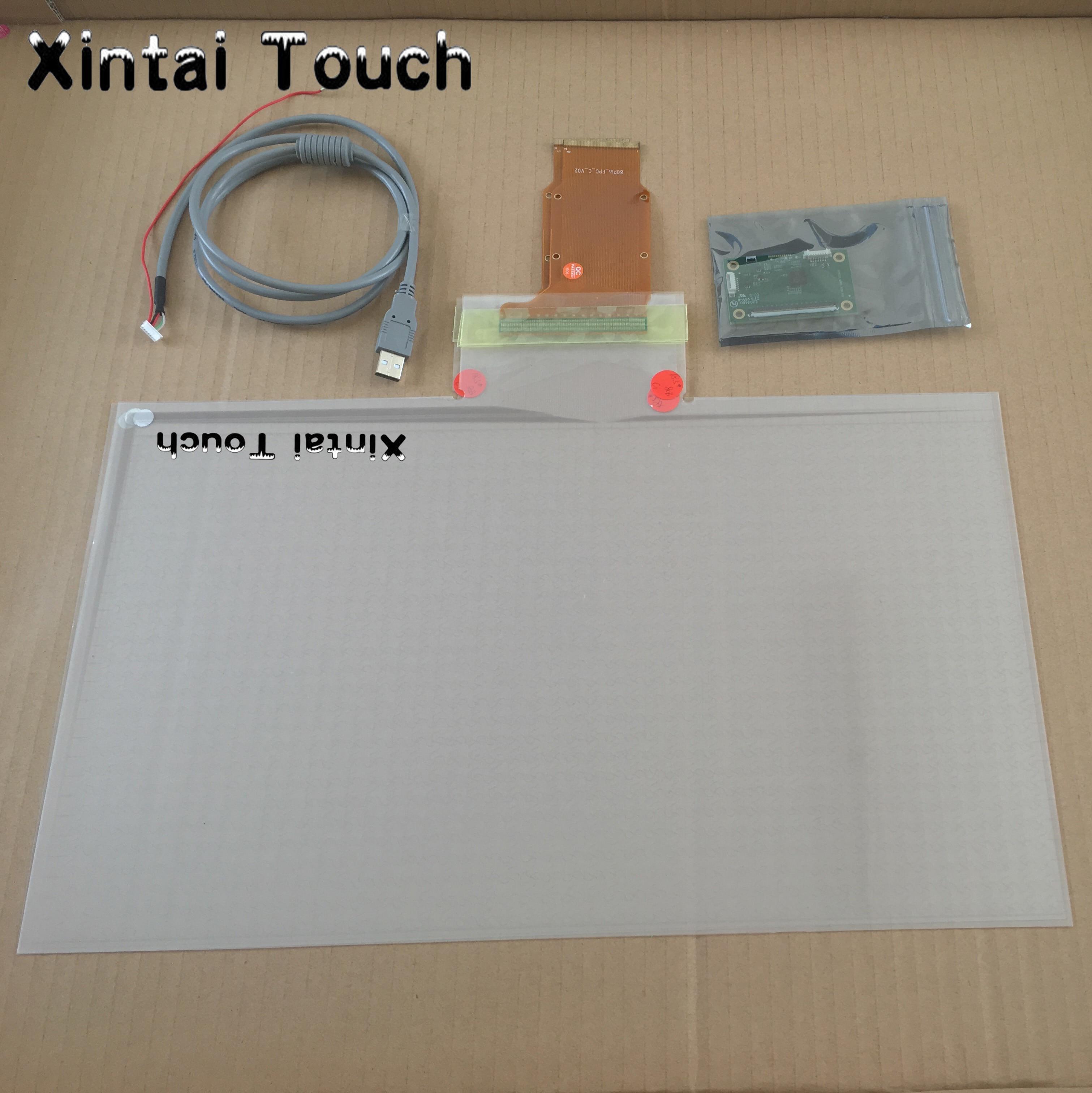 19 polegada Real 4 pontos filme folha de tela de toque capacitiva projetada