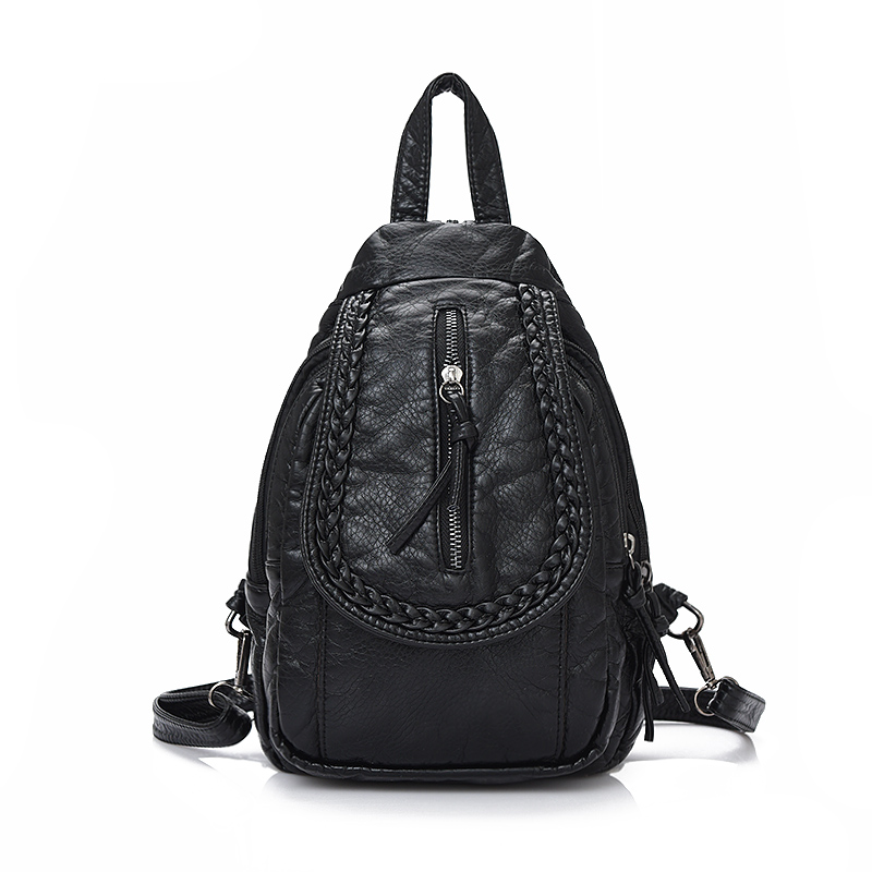 Cloth shake Fashion Women Daily bag new hot sale girl small backpack lady casual travel backpacks for women mini bag Softback 2017 small vintage navy blue deinm backpack with cover high quality women daily backpacks for travel 2colors casual jeans bag