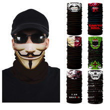 New Hiking Face Mask Clown Neck Tube Head/Hair Scarf Face Mask Halloween Party for Cycling Motorcycle Skiing(China)