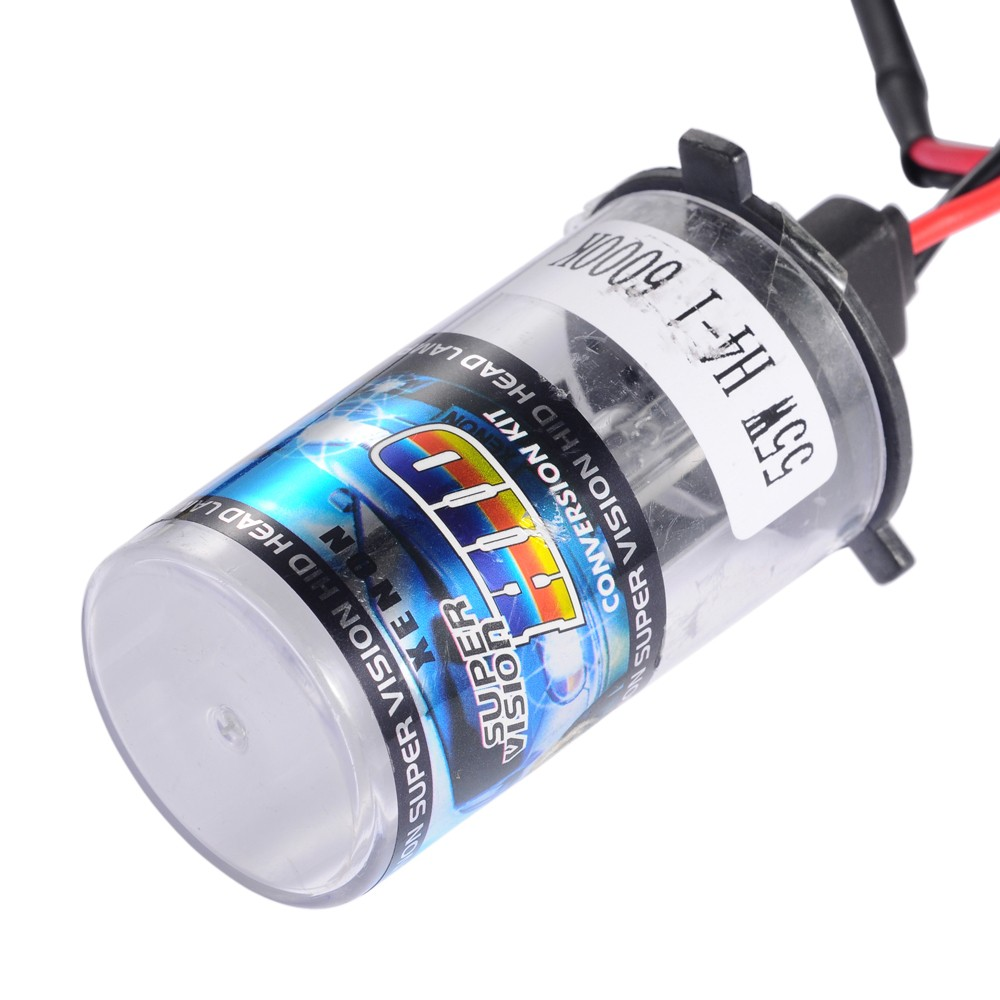Buy 2x Bi Xenon 35w H4 12v Ac Hid Automotive Headlight Replacement Bulbs H4 3 Bixenon Hi Lo Beam
