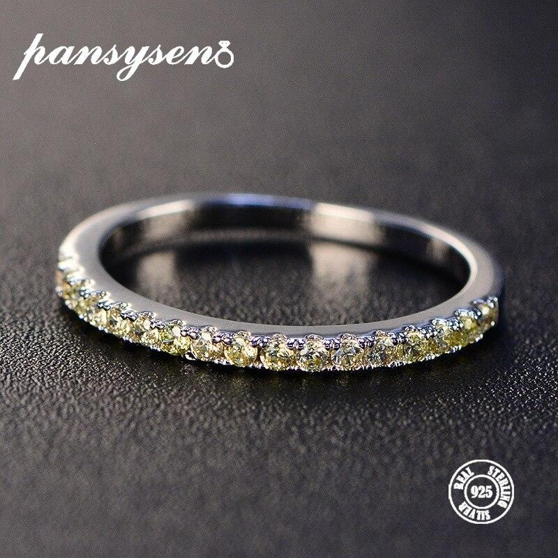 Or Jaune Sur Argent Sterling 925 forme triangulaire Clous D/'Oreilles Avec Lab Diamant
