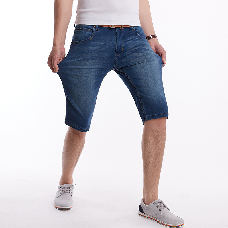summer of 2018 with cotton denim shorts jeans at five to male remaining water cultivate ones morality 28-46