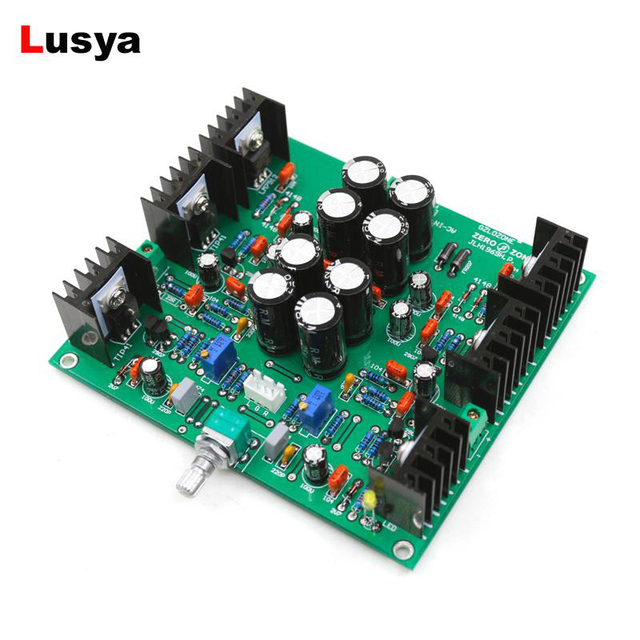 NEW JLH HOOD1969 Class A Audio Board AC 12V Preamplifier Amp DIY Kit / Finished Preamp Board