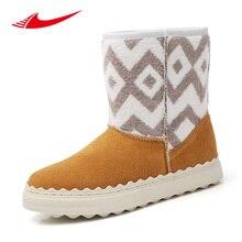 Beita зимние женские зимние ботинки теплые женские Обувь для скейтбординга шерсть Бархатные Высокие женские Спортивная обувь дамы открытый уличный Туфли без каблуков