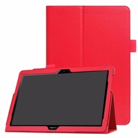 Ultra Thin Litchi Stand PU Leather Protector Sleeve Case Skin Cover For Huawei MediaPad T3 10