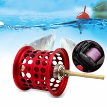 MAX3 Series 7.1:1 Metal Fishing Reels Right or Left Hand Spool Spinning Metal Line Cup Low-profile Reel Ball Bearings Free Ship